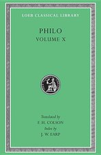 Philo, Volume 10: On the Embassy to Gaius. General Indexes (Loeb #379)