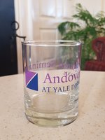 Andover Newton Seminary at Yale Divinity School Rocks Glass