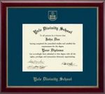 Diploma Frame: Embossed Gallery Gold