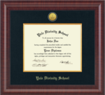 Diploma Frame: Presidential Gold Engraved in Premier